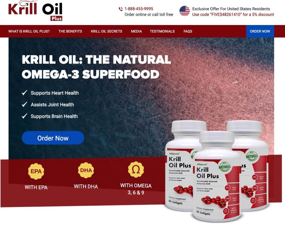 Krill Oil Plus in Canada